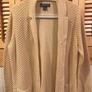 Beautiful Jones NY Beige Cardigan. Size XL. $50